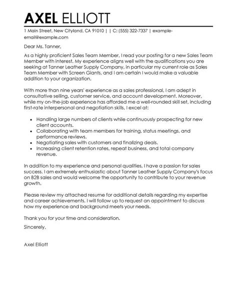 best production team members cover letter exles