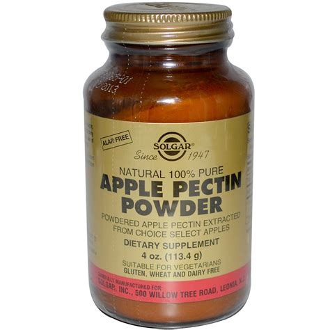 4g supplement review solgar apple pectin powder 4 oz 113 4 g iherb