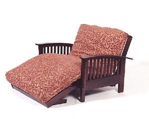 Oversized Futon by Chair Loveseat Futon Frame Makes An Oversize