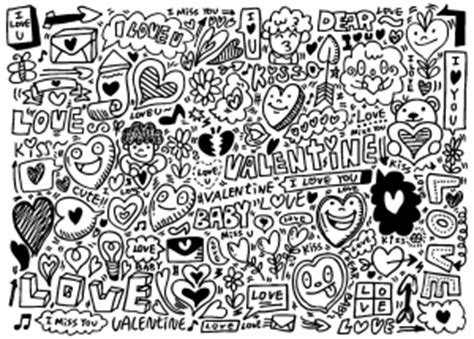 doodle page doodling doodle coloring pages for adults justcolor