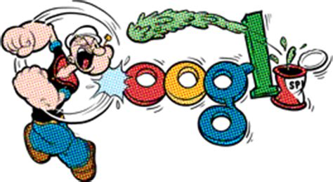 doodle 4 top 40 ロゴにポパイ popeye の原作者エルジー クライスラー シーガー next global jungle
