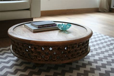 apartment therapy coffee table carved wood coffee table from west elm via apartment therapy spotted west elm customer