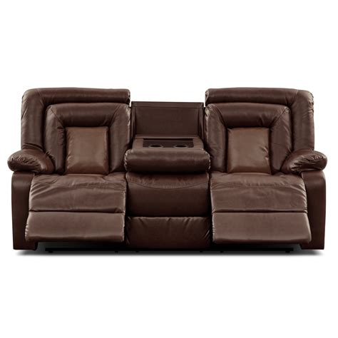 Furnishings For Every Room Online And Store Furniture Leather Dual Reclining Sofa