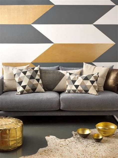 Paint Patterns For Living Room by 17 Best Ideas About Wall Painting Design On