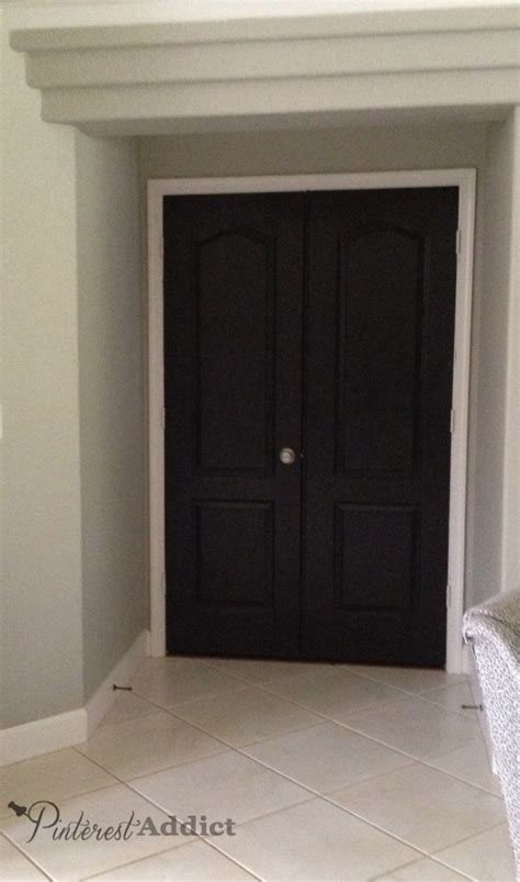 master bedroom doors painting the interior doors black