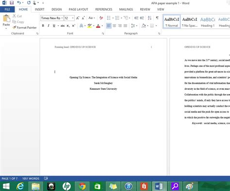 apa format in word for mac youtube