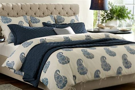 navy and cream bedding pottery barn indigo bedding love the quilted coverlet and