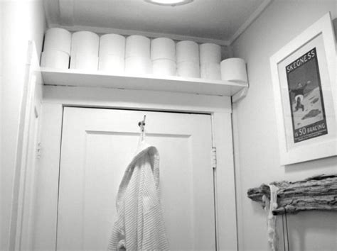 to da loos above the door bathroom storage solutions