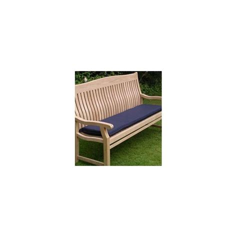 outdoor furniture bench cushions outdoor cushion for 150cm bench navy blue