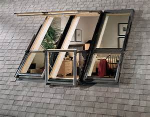velux roof balcony windows lofty terrace beautiful