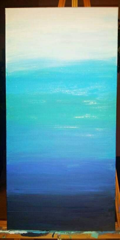 ombre acrylic paint on canvas 80 best images about diy on abstract paintings