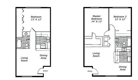 1 Room Studio Apartment Floor Plan - plan of 1 bedroom flat talentneeds