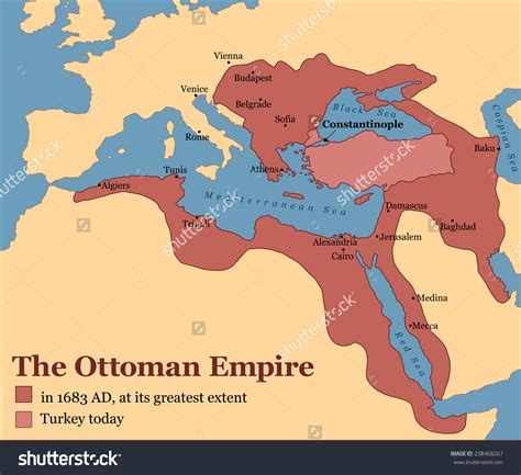 The Ottoman Empire Was Located In Pin By Akhmad Ali On Map History