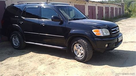 2006 Toyota Sequoia Towing Capacity 2004 Toyota Sequoia Suv Specifications Pictures Prices