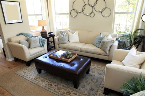 Decorative Ottomans Living Room by 50 Living Rooms Beautiful Decorating Designs