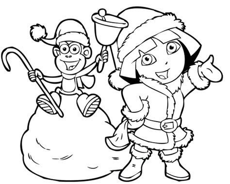 dora star coloring pages dora coloring pages christmas coloringstar