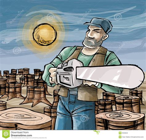 woodcutter cartoons illustrations vector stock images