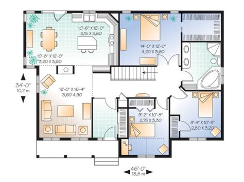 starter home floor plans plan 027h 0156 find unique house plans home plans and