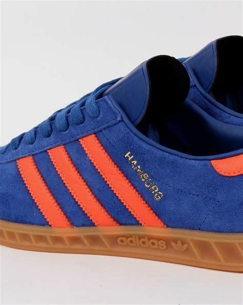 adidas dublin adidas hamburg trainers royal blue orange dublin