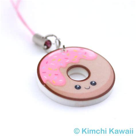 7 Cell Phone Charms by Kawaii Donut Acrylic Cell Phone Charm 183 Kimchi Kawaii