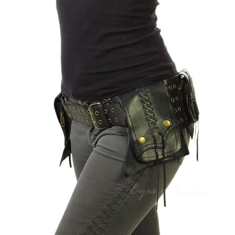 Tas Pinggang Waist Bag Waist Pack Hip Bag Journey Moskow Olive Leather Belt Bag Bum Hip Waist Pouch Bag Belt Bags Hip