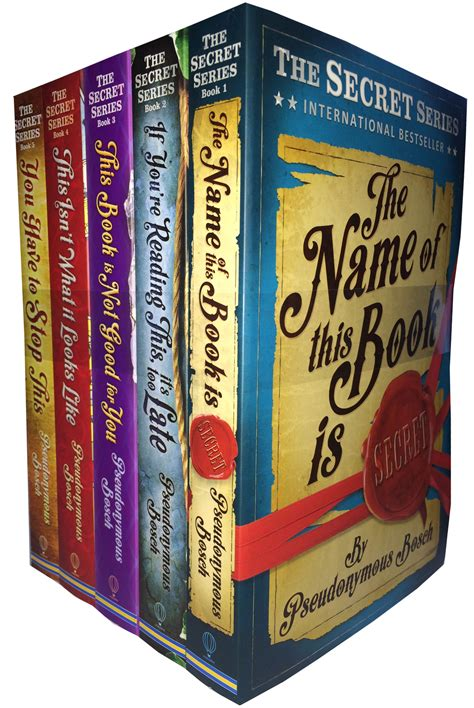 series the complete collection books the secret series complete collection by pseudonymous