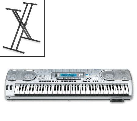 Keyboard Casio Wk 3500 Casio Wk 3500 76 Key Keyboard With Smartmedia Stand