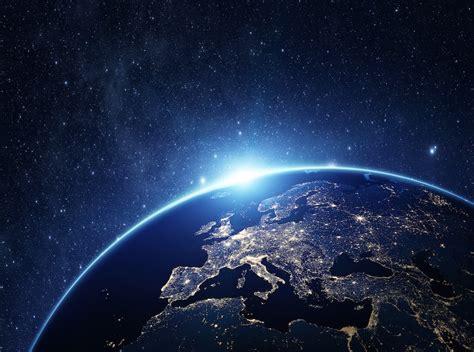 imagenes del universo desde la nasa as 237 se ven las luces de la tierra desde el espacio fotos
