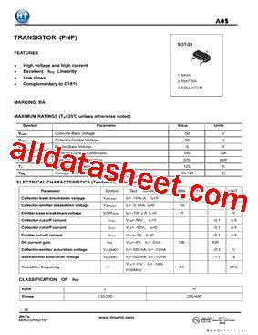 transistor a1015 datasheet a1015 datasheet pdf shenzhen jin yu semiconductor co ltd