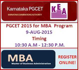 Best Mba For M A by Karnataka Pgcet 2015 For Mba Admissions In Top Colleges