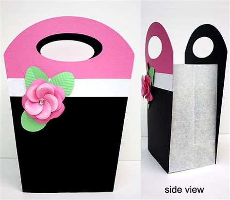 gift bag template printable pinterest