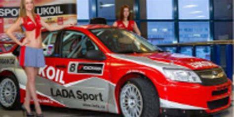 lada con timer lada sport lukoil muestra sus colores motor y racing