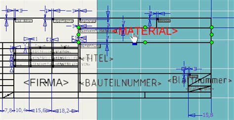 Design Cad Vorlagen Schriftfeld Explosionszeichnung Vorlage