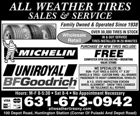 all weather tire huntington ny all weather tires sales service huntington station ny
