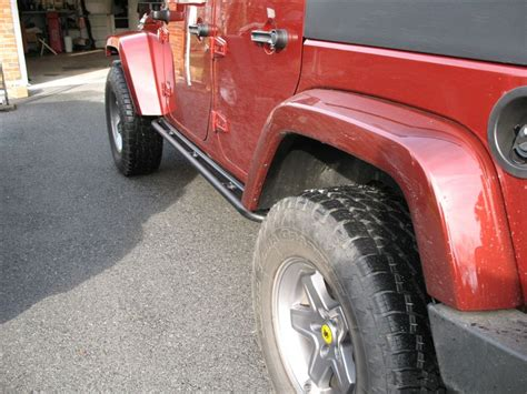 Jeep Step Rails Mopar Rock Rails For Wrangler Jk Jeepfan