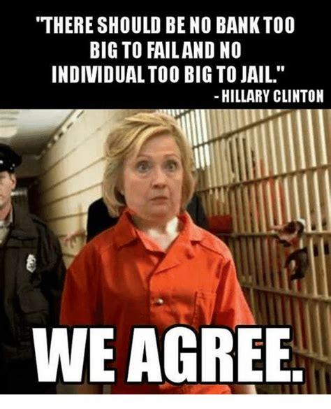 Jail Meme - 25 best memes about jail hillary jail hillary memes
