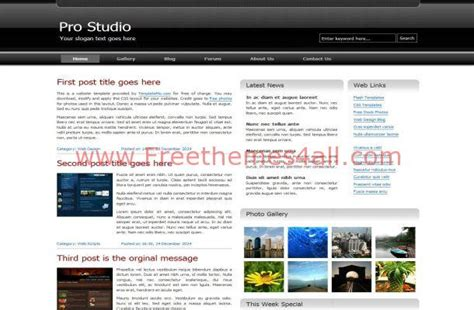 css templates for business websites free download silver business magazine css template