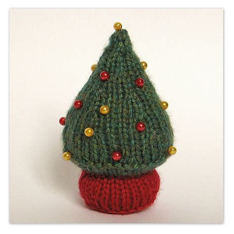 xmas tree decorations knitting pattern christmas decorating