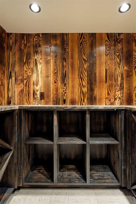 charwood tiger shou sugi ban interior design  montana