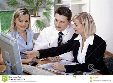 Office Team Office Team Royalty Free Stock Photography Image 18712017