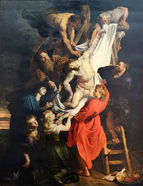 the from the the descent from the cross rubens