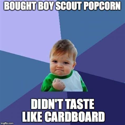 Boy Scout Memes - success kid meme imgflip