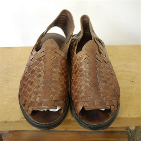 tire tread sandals mens leather tire tread huarache sandals flats strappy