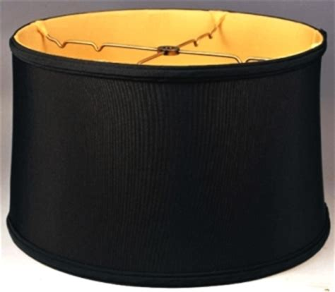 black drum l shades with gold lining homeofficedecoration black drum l shade gold lining