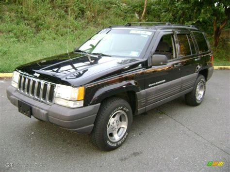 jeep grand black 1998 black jeep grand laredo 4x4 37423985 photo