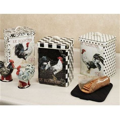 set of 3 rooster canisters country kitchen accent home 93 best rooster images on pinterest rooster decor