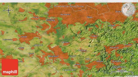 solingen map satellite 3d map of solingen