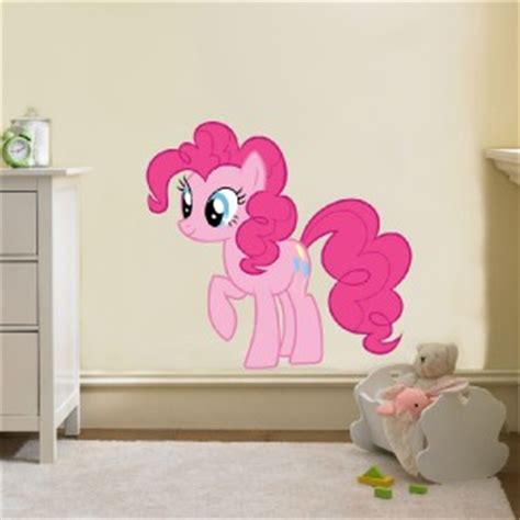 my little pony bedroom accessories pinkie pie my little pony decal removable wall sticker