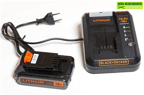 heckenschere akku test test black decker gtc18502pc akku heckenschere vergleich de
