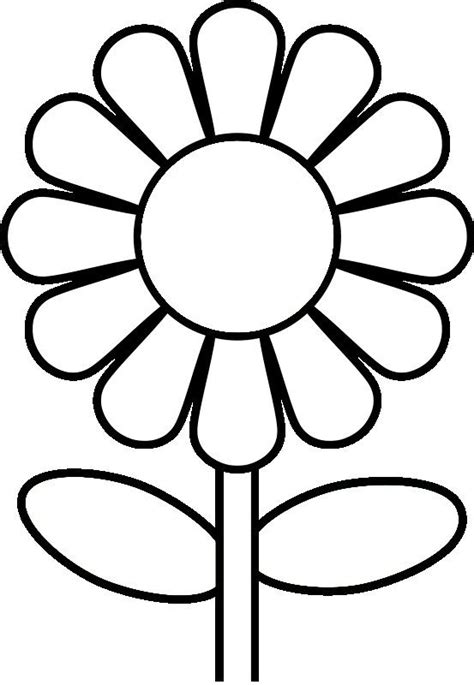 coloring pictures of flowers for preschoolers coloring pages for preschoolers preschool flower